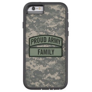 Personalize Army Family Camo Tough Xtreme iPhone 6 Case