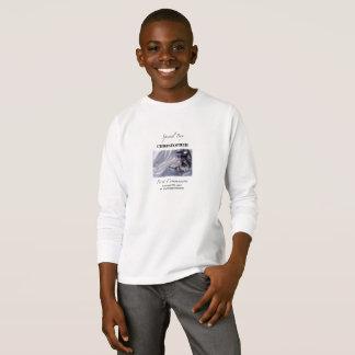 Personalize, Boy, First Communion Blue T-Shirt