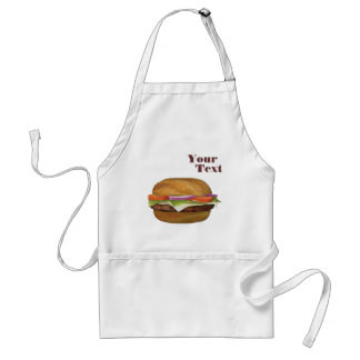 Personalize Burger  Standard Apron