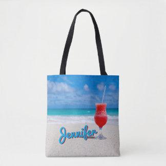 Personalize Caribbean Tropical Punch Daiquiri Tote Bag