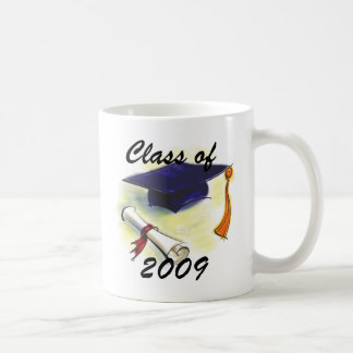 PERSONALIZE CLASS OF 2009 NAME COFFEE MUG