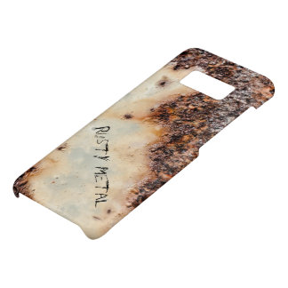 Personalize Cool brown rusty metal texture Case-Mate Samsung Galaxy S8 Case