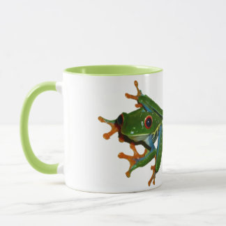 Personalize Costa Rica Red Eyed Frog Mug