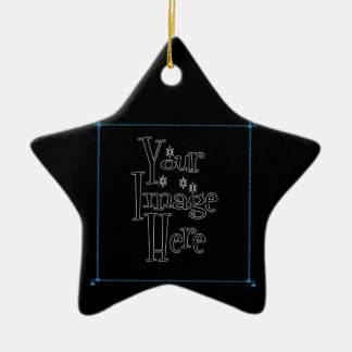 ♪♫♪ PERSONALIZE - CREATE YOUR OWN CERAMIC STAR DECORATION