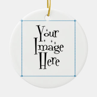 ♪♫♪ PERSONALIZE - CREATE YOUR OWN ROUND CERAMIC DECORATION