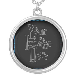 PERSONALIZE - CREATE YOUR OWN ROUND PENDANT NECKLACE