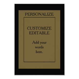 PERSONALIZE CUSTOMIZE EDITABLE Text to Card