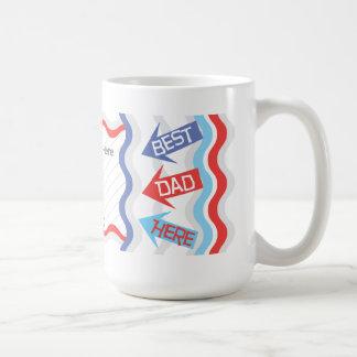 Personalize Dad Photo Coffee Mug