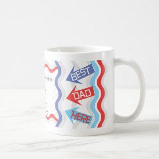 Personalize Dad Photo Coffee Mugs