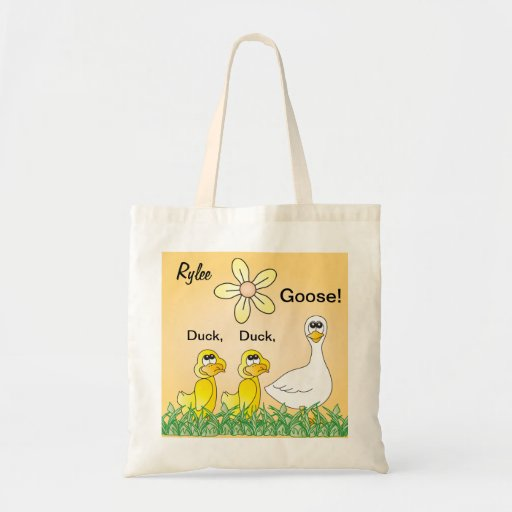 Personalize Duck, Duck, Goose Overnight Bags
