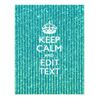 Personalize Easily KEEP CALM AND Edit Text 21.5 Cm X 28 Cm Flyer