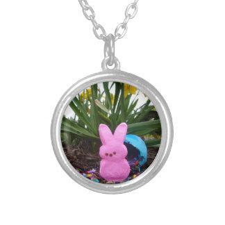 Personalize Easter Bunny Peace Love Art Destiny Necklaces