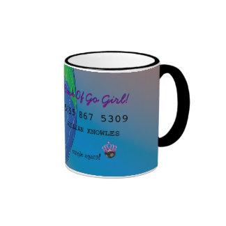 Personalize First Divorce Credit Card Ringer Mug