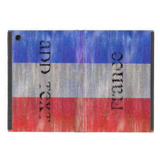Personalize - French Distressed Flag - France iPad Mini Cover