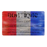 Personalize - French Flag - France - boutique Business Card Template