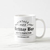 Personalize Funny Birthday Coffee Mug