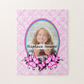 Personalize Grand Daughter Photo For Grandparents Jigsaw Puzzle