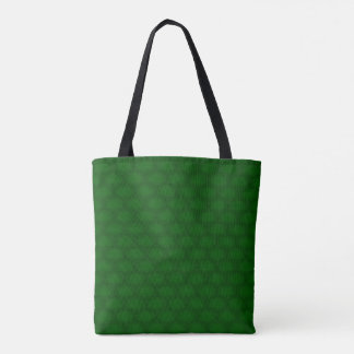 Personalize Green Christmas, St Patricks Day Tote Bag