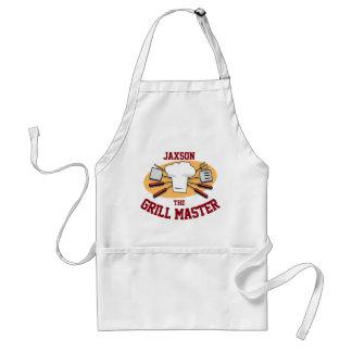 Personalize Grill Master Standard Apron