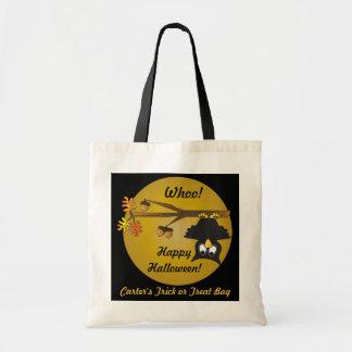 Personalize Halloween Treat Bag Tote Bag