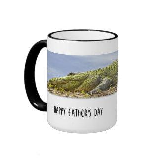 Personalize: Huge Gator Nature Photo Ringer Mug