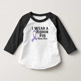 Personalize I Wear a Lavender Ribbon T Shirts