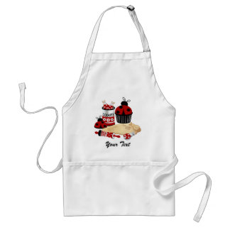 Personalize Ladybug Apron