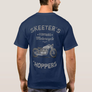 Personalize Motorcycle Choppers T Shirt, Mens T-Shirt