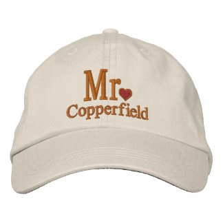 Personalize Mr & Mrs Embroidery Embroidered Cap Baseball Cap