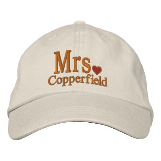 Personalize Mr & Mrs Embroidery Embroidered Cap Embroidered Baseball Caps