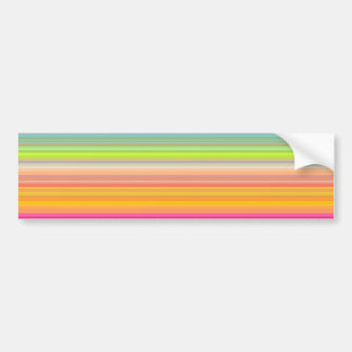 Personalize - Multicolor gradient background Bumper Sticker