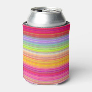Personalize - Multicolor gradient background Can Cooler