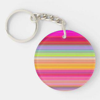 Personalize - Multicolor gradient background Key Ring