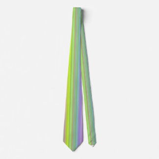 Personalize - Multicolor gradient background Tie