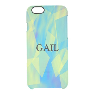 Personalize Name Clear iPhone 6/6S Case