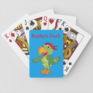 Personalize Name Text Custom Kids Fun Trendy Playing Cards