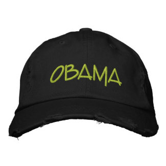 Personalize OBAMA Commemorative gift Embroidered Hat