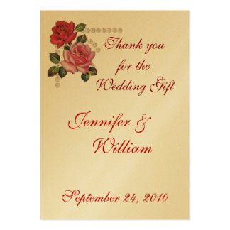 PERSONALIZE PK 100 THANK YOU CARDS BUSINESS CARDS