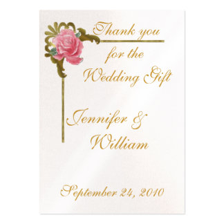 PERSONALIZE PK.100 THANK YOU CARDS BUSINESS CARDS