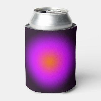 Personalize - purple, orange, black Halloween Can Cooler
