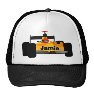 Personalize Race Car Birthday Party Gifts Hat