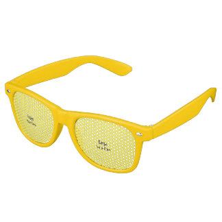 Personalize Retro Sunglasses