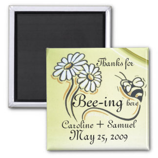 PERSONALIZE SAVE THE DATE MAGNET