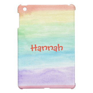 Personalize Seamless Watercolor Pattern iPad Mini Cases