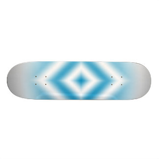 Personalize-sky blue diamond gradient 21.6 cm skateboard deck