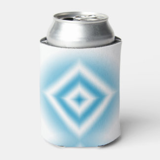 Personalize-sky blue diamond gradient can cooler