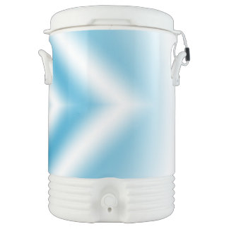 Personalize-sky blue diamond gradient cooler