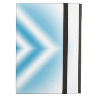 Personalize-sky blue diamond gradient iPad air case