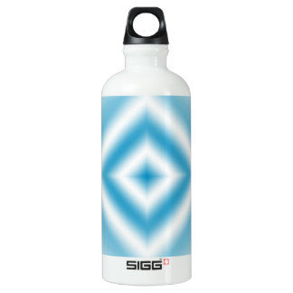 Personalize-sky blue diamond gradient SIGG traveller 0.6L water bottle