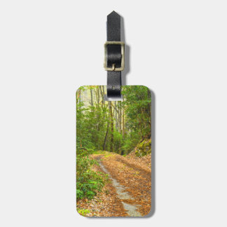 Personalize: Smoky Mountain Dirt Road Picture Luggage Tag